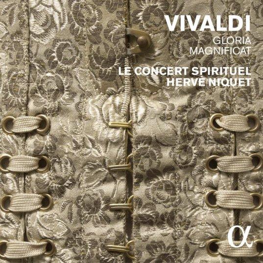 Antonio Vivaldi: Gloria, Magnificat Le Concert Spirituel – Hervé Niquet CD Alpha 222