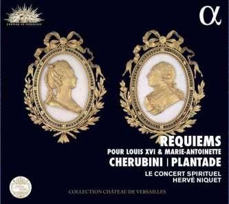 Cherubini   Plantade Requiems Le Concert Spirituel – Hervé Niquet CD Alpha 251