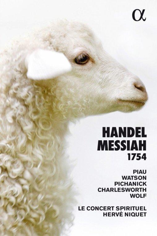 G.F. Handel: Messiah Le Concert Spirituel – Hervé Niquet CD Alpha 362