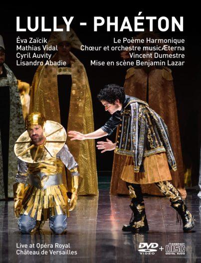 Jean-Baptiste Lully: PhaétonLe Poeme Harmonique – Vincent Dumestre DVD+CD Versailles Spectacles #12