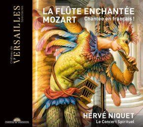 W.A. Mozart :La Flûte Enchantée Le Concert Spirituel – Hervé NiquetCD+DVD Versailles Spectacles #30