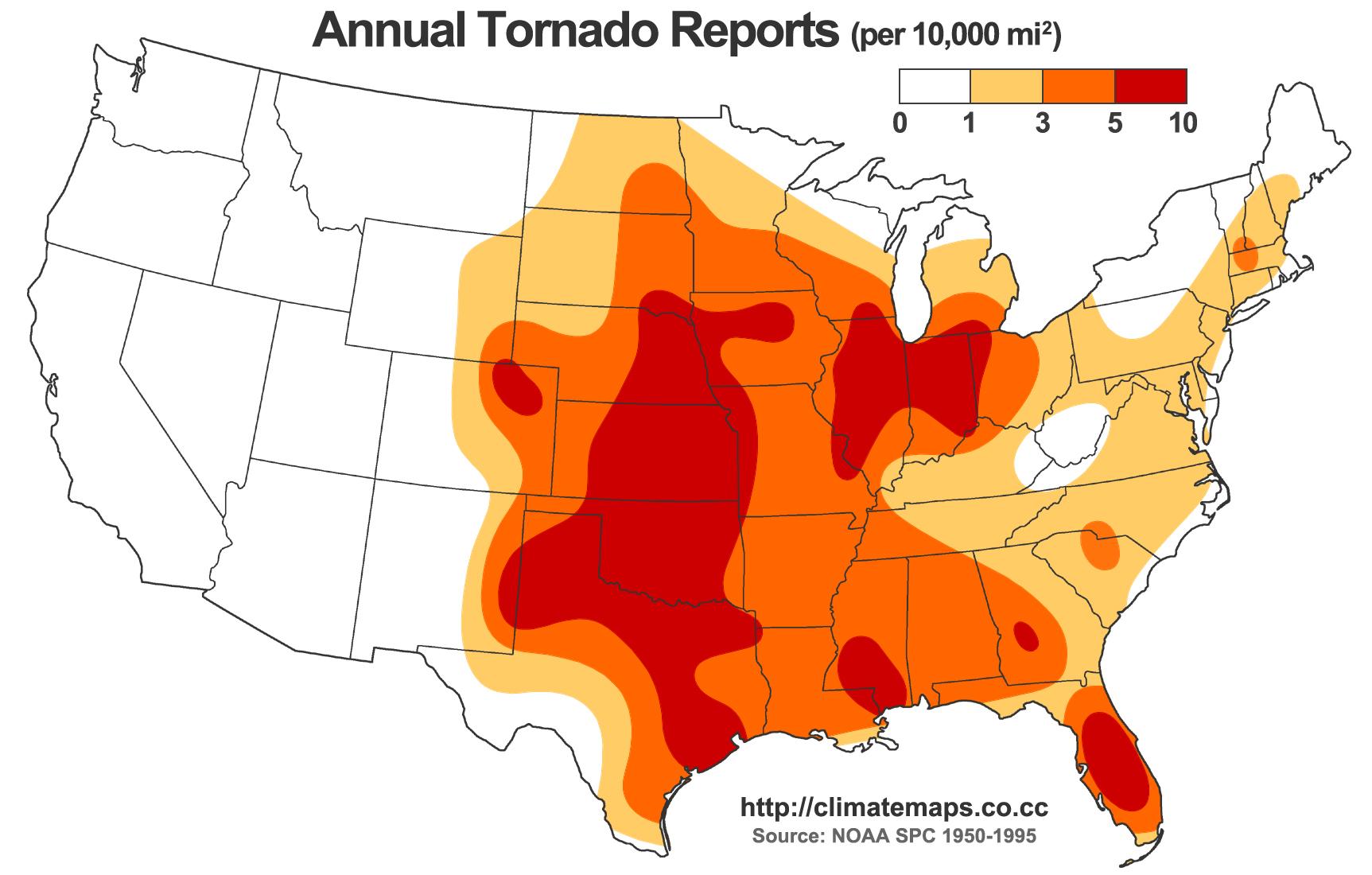 Texas Tornado Facts
