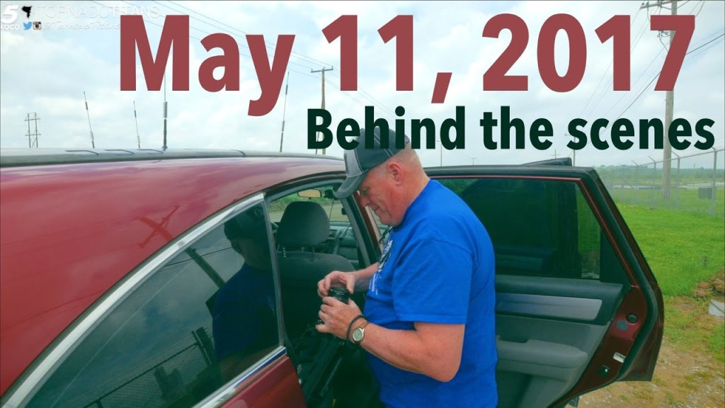 May 11, 2017 Storm Chase   Some looks behind the scenes of a storm chase  bust