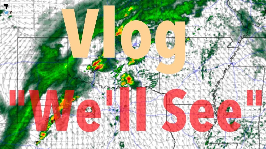 Storms soon? We'll See | March 24, 2018 | Vlog
