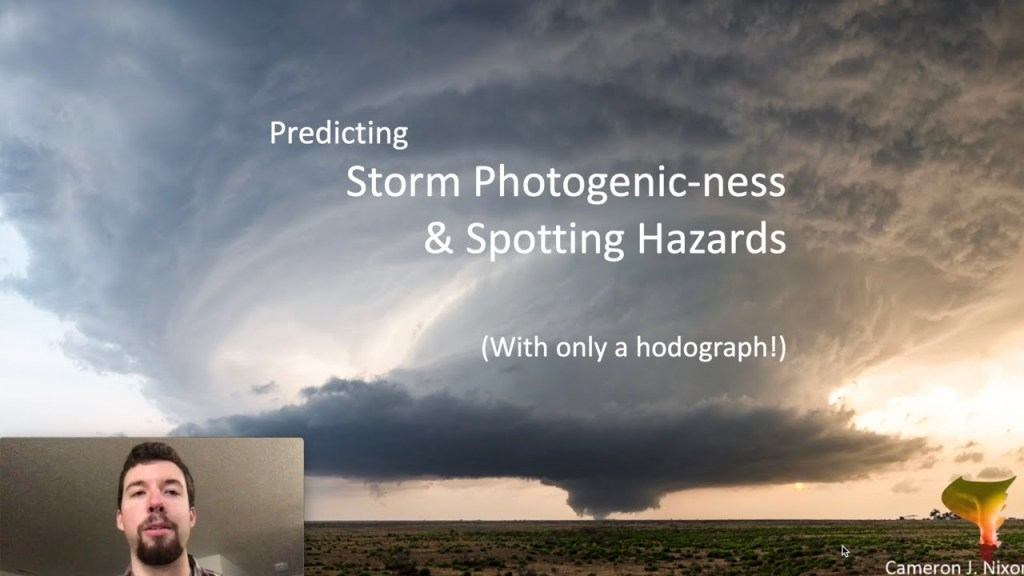 Hodographs and Storm Photogenic-ness/Spotting Hazards (Guest Lesson from Cameron Nixon)