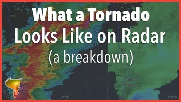 What a Tornado Looks Like on Radar — March 13, 2021 Radar Breakdown