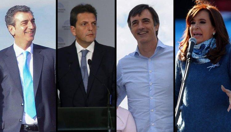 Cristina, Massa, Randazzo y Bullrich competirán en la Provincia