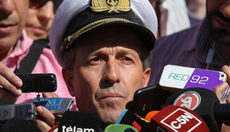 Urgente ! El vocero de la Armada, Enrique Balbi, confirmó una implosión en el A.R.A. San Juan