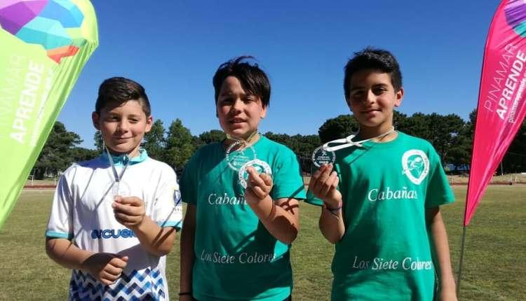 Medallas de Oro y Broce para atletas del Distrito!!!