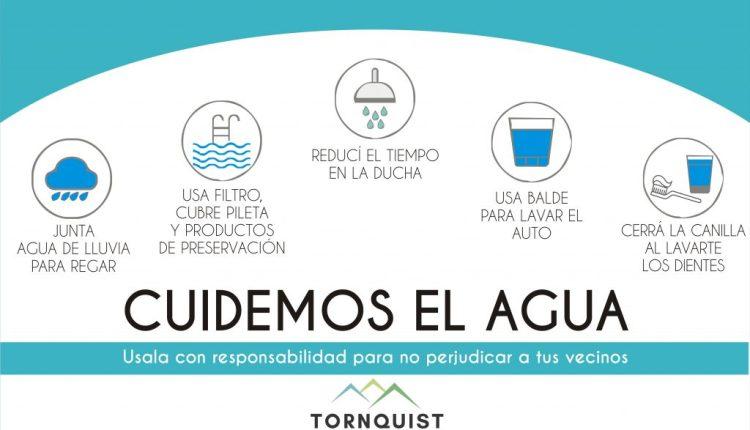 Tornquist – Solicitan hacer uso responsable del agua