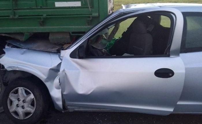 Un hombre murió tras un choque en la ruta 3