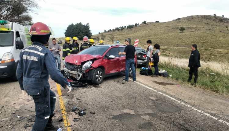 Sierra de la Ventana – Accidente en la ruta provincial 76