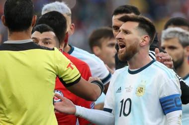 Messi no fue a recibir la medalla: «No quería ser parte de esta corrupción; no nos dejaron estar en la final»