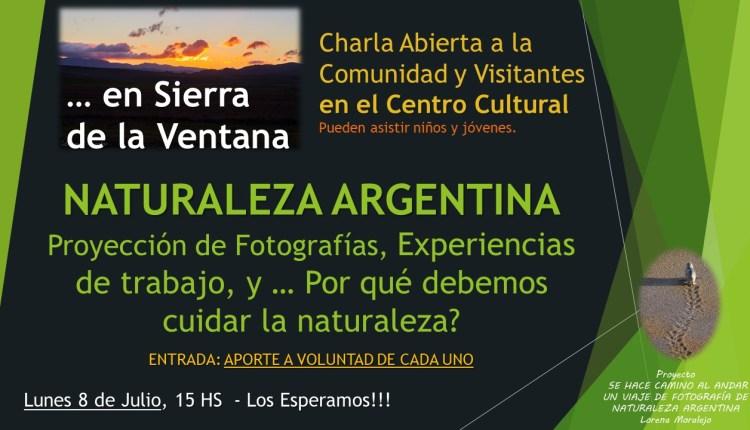 Sierra de la Ventana – Lorena Moralejo se presenta hoy en el Centro Cultural