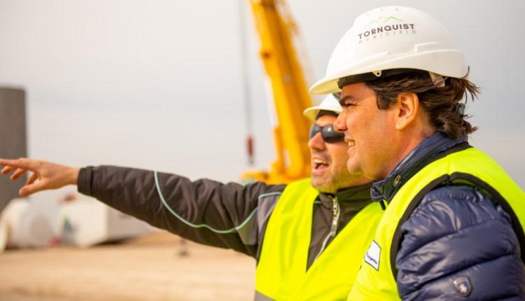 """En Agosto con 6 aerogeneradores, el parque eólico""""Tres Picos"""" comienza a generar energía limpia"""