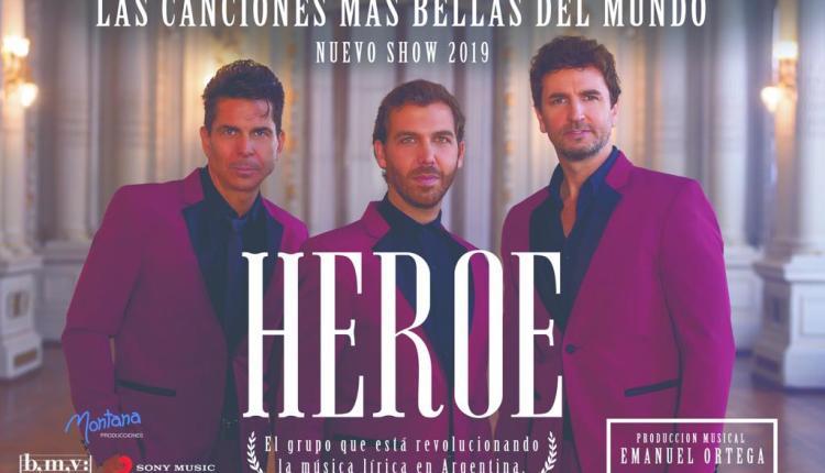 Tornquist – Este sábado llega al teatro municipal «Héroe», el gran musical argentino