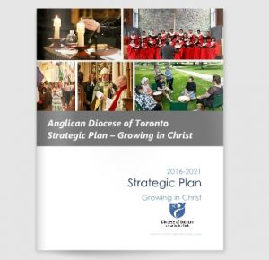 The cover of the diocese's new strategic plan, linking to a web page about the plan.