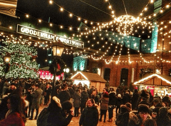 Toronto's Historic Distillery District Christmas Market
