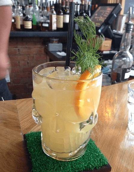 Cocktail from Toronto Bar