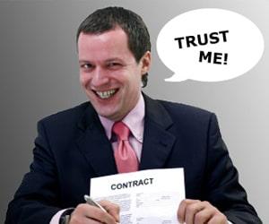 trust me lie
