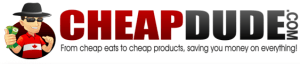 Logo from my deal site CheapDude.com