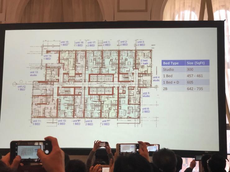 United Condos Floorplans