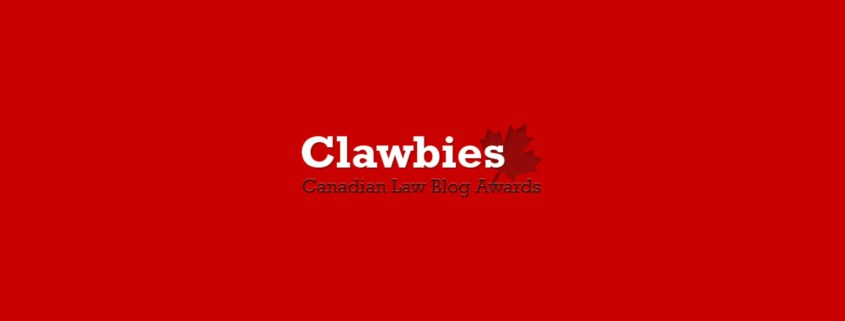 Clawbies 2018 Nominations
