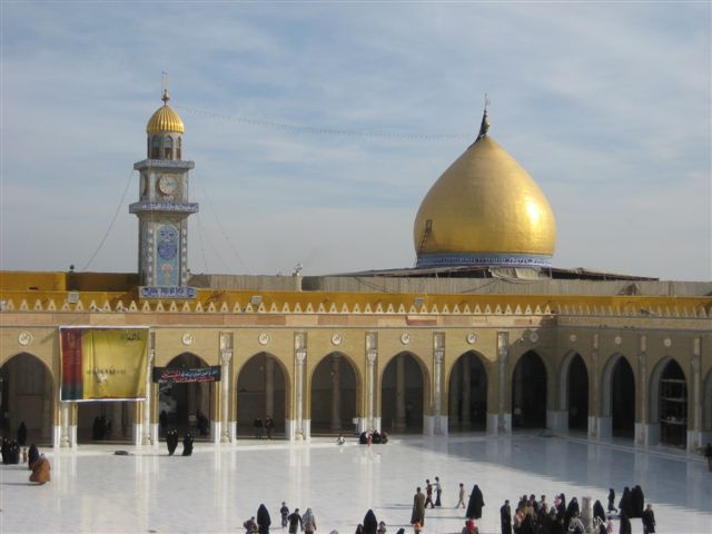 La Mosquée de Kufa en Irak (639)