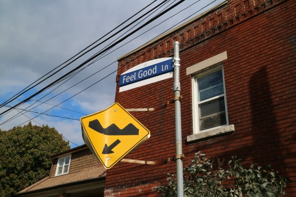 Feel Good Lane in Toronto