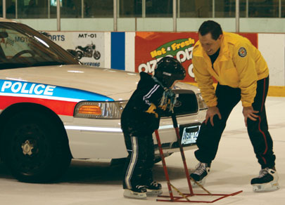 Toronto Police Services 43 Divison holds a free Family Skate Day