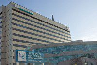 The 10th floor of the Rouge Valley Health System's Centenary Campus is where Gord Holliday spent a week in the allegedly substandard psychiatric ward. (Laura Ross/Toronto Observer)