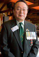 Korean war veteran Takao Irizawa joined the military in hopes of a better future. (Amanda Ly/Toronto Observer)