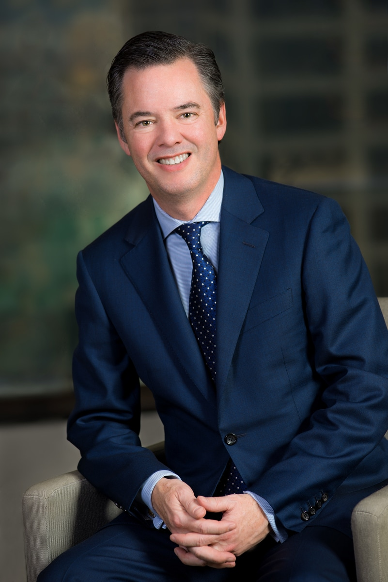 corporate business portraits of man in office setting