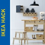 Ikea Hack Of The Week A Kitchen Island Rolling Cart Eating
