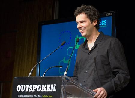 Sean Farnel at the press conference