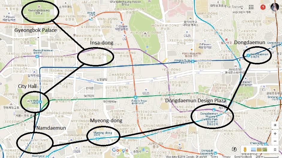 Toronto Seoulcialite Gyeongbokgung to Dongdaemun