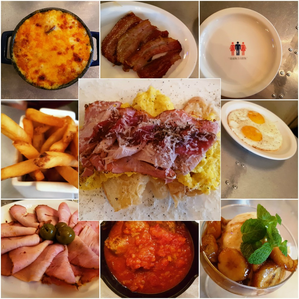 Food at Guilty Pleasure Seoul (Itaewon)