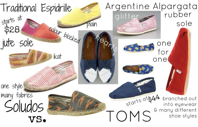 soludos versus toms, soludos review, soludos or toms