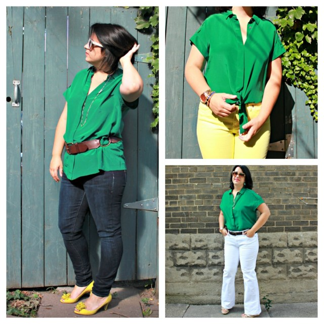 one blouse 3 ways