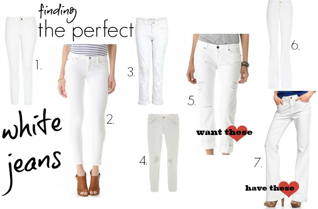 Finding the Perfect White Jeans ⋆ chic everywhere
