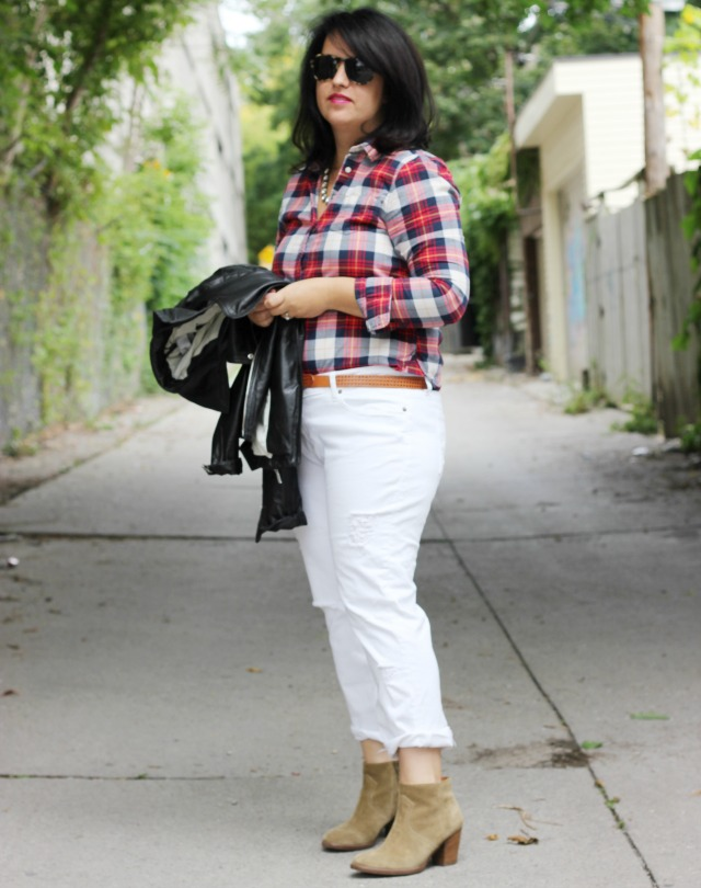 Styling White Jeans for Fall ⋆ chic everywhere