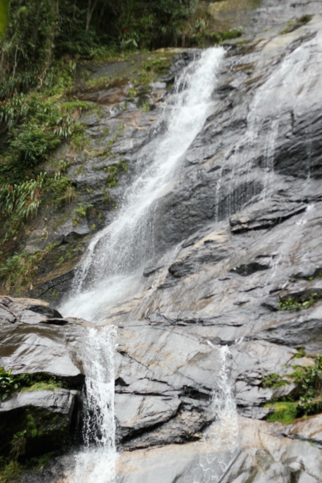 tijuca waterfall, cascatinha waterfall, day tour of rio de janeiro