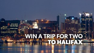 Win a trip for two to Halifax