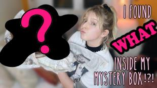 I Found WHAT Inside My Mystery Box??! by Lauren and Caitlin