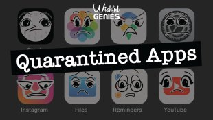 Quarantined Apps by Wishful Genies