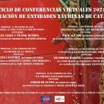 Ciclo de conferencias virtualesde la Federación de Entidades Taurinas de Cataluña