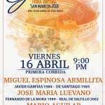 PRIMERA CORRIDA DE FERIA VIRTUAL SAN MARCOS 2021