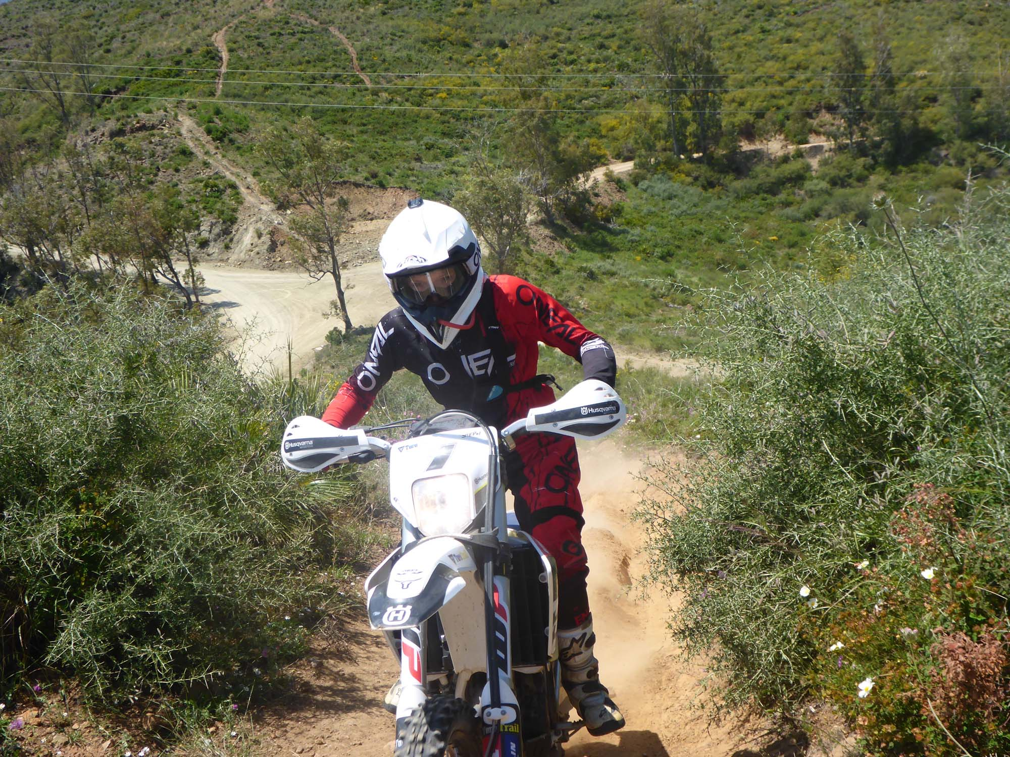 off-road motorcycle tours in Spain. Dirt Bike Holidays in Malaga