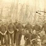 Brixham Fishermen - Regatta dressed 1900's