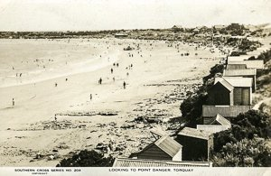 Bathing Boxes, Torquay History, Torquay Beach